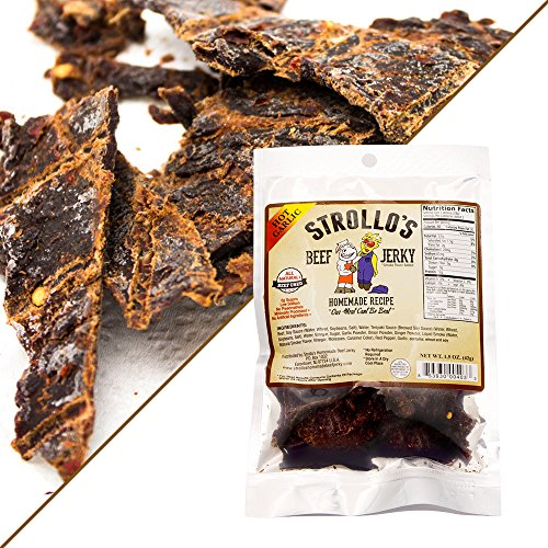 Best Beef Jerky by Strollo's Hot Flavor Sampler Paleo ...