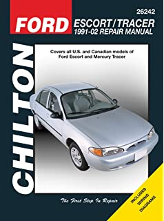 Ford escort and tracer 1991 99 chilton total car care series ford escort mercury tracer 1991 2002 chiltons total car fandeluxe Choice Image