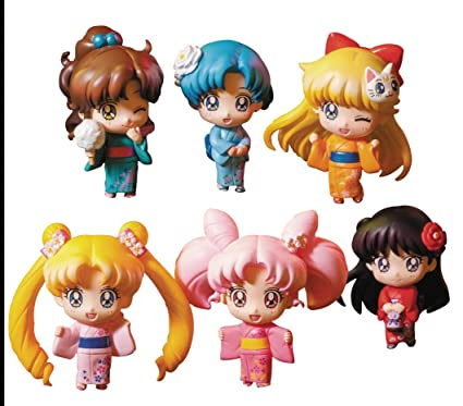 6c2217fb7 Amazon.com: Megahouse Sailor Moon: Petit Chara Sailor Let's Go ...