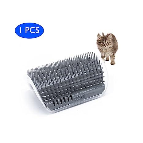 Cepillo autogrietador Cat con Catnip-Wall Montado en la esquina Montado en masajes Peine-