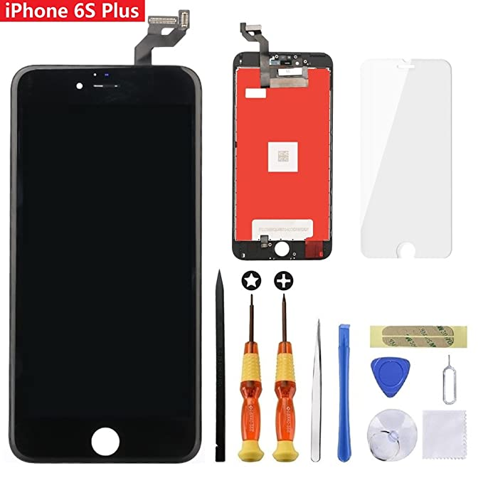 1f04ec35d for Black iPhone 6S Plus 5.5 inch Screen Replacement Retian LCD 3D Touch  Screen Digitizer Fram