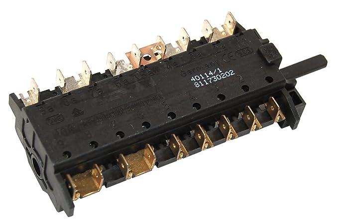Smeg 811730202 Smeg horno Selector Interruptor. Genuine número de ...
