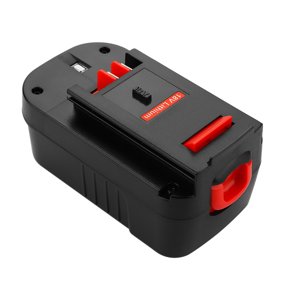 Energup Upgraded 5000mAh Lithium Black & Decker 18V Replacement Battery for HPB18 HPB18-OPE 244760-00 A1718 FS18FL FSB18 Firestorm Black and Decker 18 Volt Battery by Energup (Image #6)