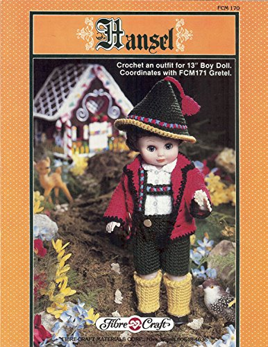 Hansel Crochet Pattern Pamphlet Fcm170 Crochet An Outfit For