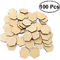 SALIFTY - 100 piezas de madera de haya