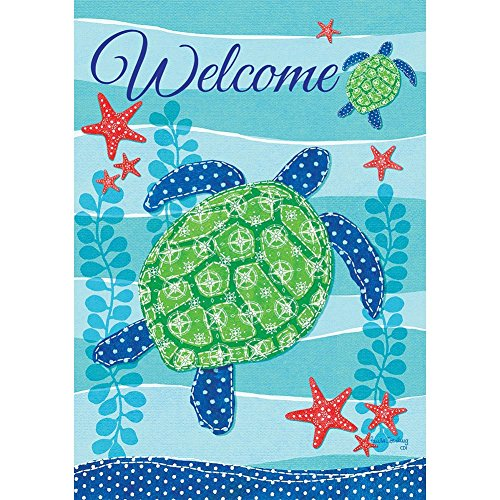 SEA TURTLE WELCOME Wildlife Conservation 2 Sided Custom