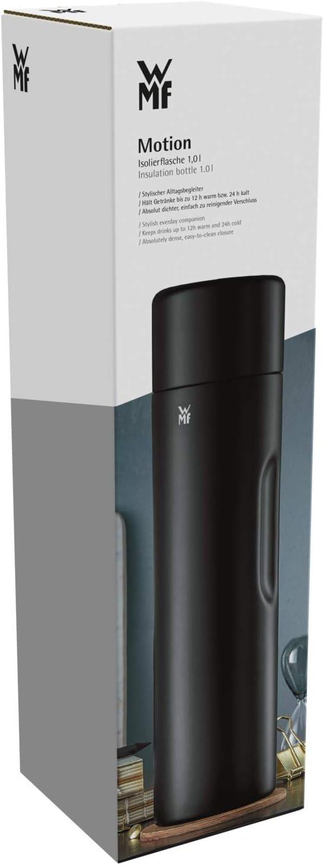 borde de silicona WMF Motion acero inoxidable cromargan 18//10 vidrio Termo 0.5 l