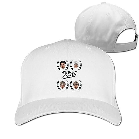 Gorra de béisbol para Hombre y Mujer, Estilo Vintage - Blanco ...