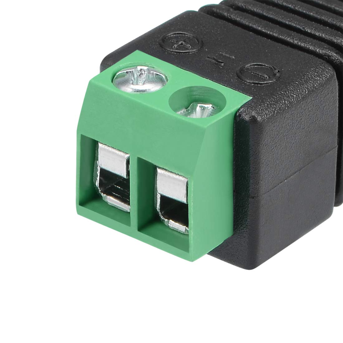 uxcell 20Pcs Cat5 to Coaxial Camera CCTV BNC Male//Female Jack Connector Screw Terminal Adapter