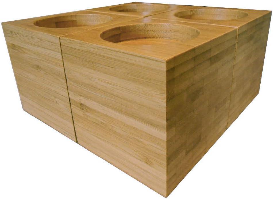 Bambou r/éhausseurs pour meubles 4/pi/èces