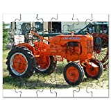 CafePress - Allis Chalmers Tractor.Png - Jigsaw Puzzle, 30 pcs.