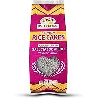 BSD Foods Galletas de Arroz, Cebolla, 2 bolsitas