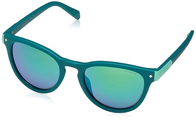 Polaroid Kinderbrillen Sonnenbrille » PLD 8025/S«, grün, 1ED/5Z - grün/ grün