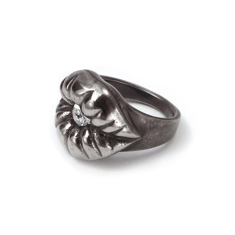 9ec6c0b51b2ea8 Amazon.com: La Jolla Titanium Ring - Kiss Me - Women Ring: Jewelry