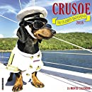 Crusoe the Celebrity Dachshund 2018 Wall Calendar (Dog Breed Calendar)