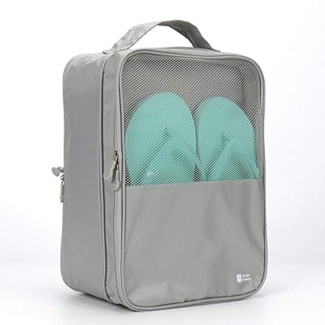 Caja De Zapatos De Tela_portáTil Plegable Viaje Al Aire ...