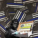 Dip Ape Large Thin Blue Line Flags Hydrographics Water Transfer Hydro Dip Dipping Kit