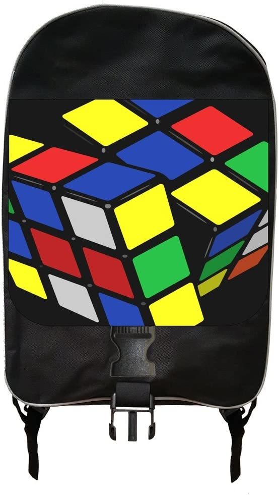 Puzzle Toy Print Backpack and Pencil Case Set