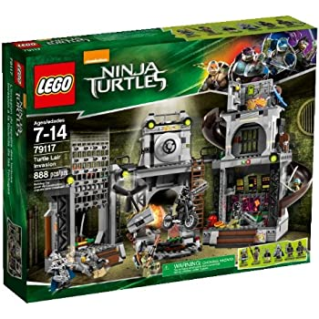 Amazon.com: LEGO Teenage Mutant Ninja Turtles - The ...