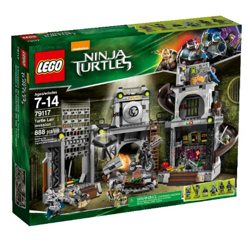 ninja turtles lego minifigures - 4