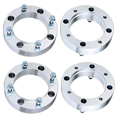 "ECCPP 1.5 inch 4 Lugs Wheel Spacers 4x156 to 4x156mm 38mm 131mm CB fits for Polaris Outlaw 500 525 Polaris RZR 800 Polaris Sportsman 800 500 with 3/8"" x24 Studs: Automotive"