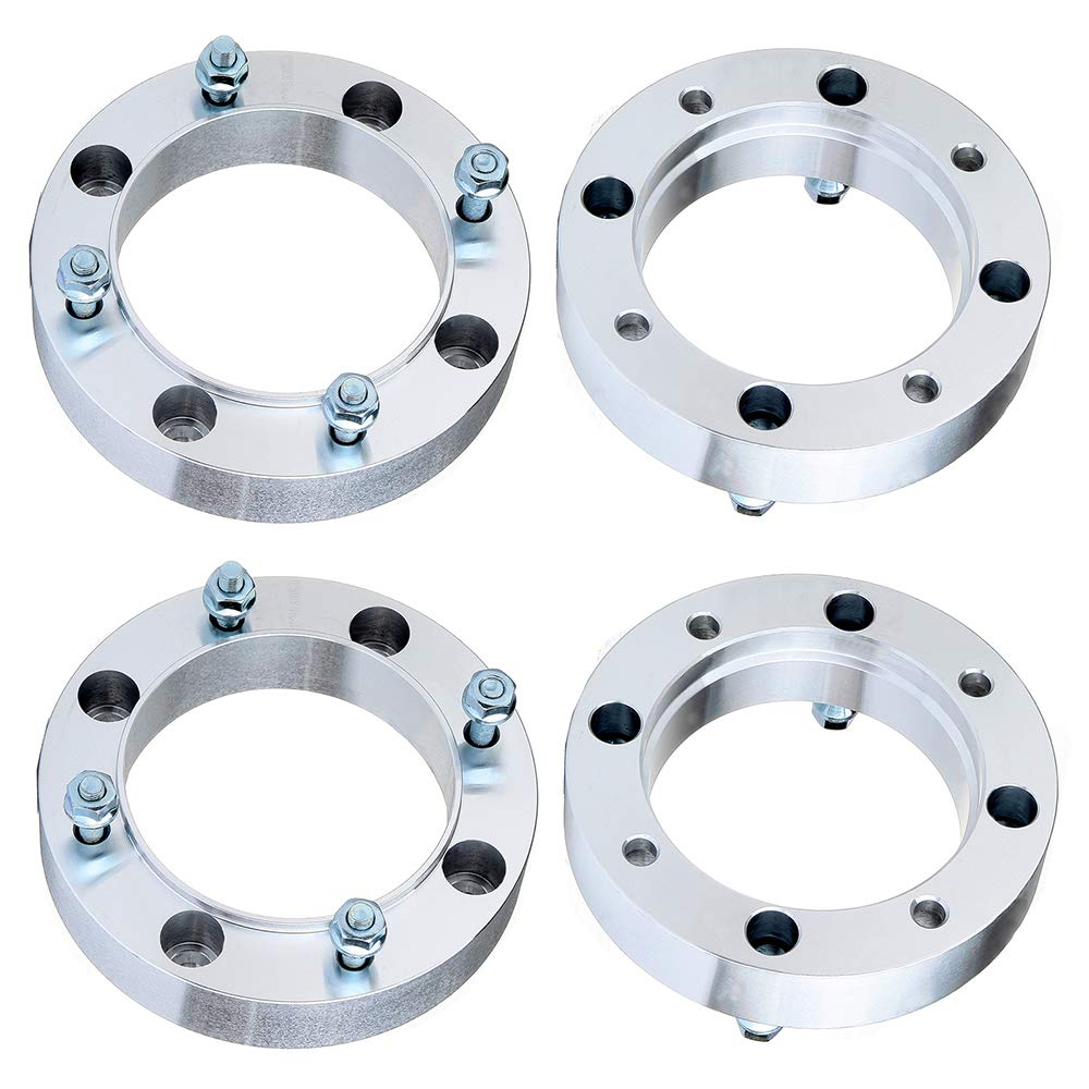 AUTOMUTO 4Lugs 4Pcs 1.5 or 38mm 4x156mm to 4X156MM with 3//8 x24 Studs Wheel Spacers fit Polaris Ranger 400 450 500 700 800
