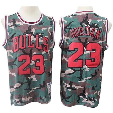 Z-ZFY Camiseta Sin Mangas De Baloncesto Jordan # 23 Bulls De ...