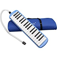 Daseey 32 Piano Keys Melodica Musical Instrument for Music Lovers Beginners Gift with Carrying Bag