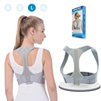 Back Posture Corrector ANOOPSYCHE Clavicle Support Brace Comfortable and Adjustable Straps Prevent Slouching and Hunching Designed for Your Upper Back Straightener for Women Men