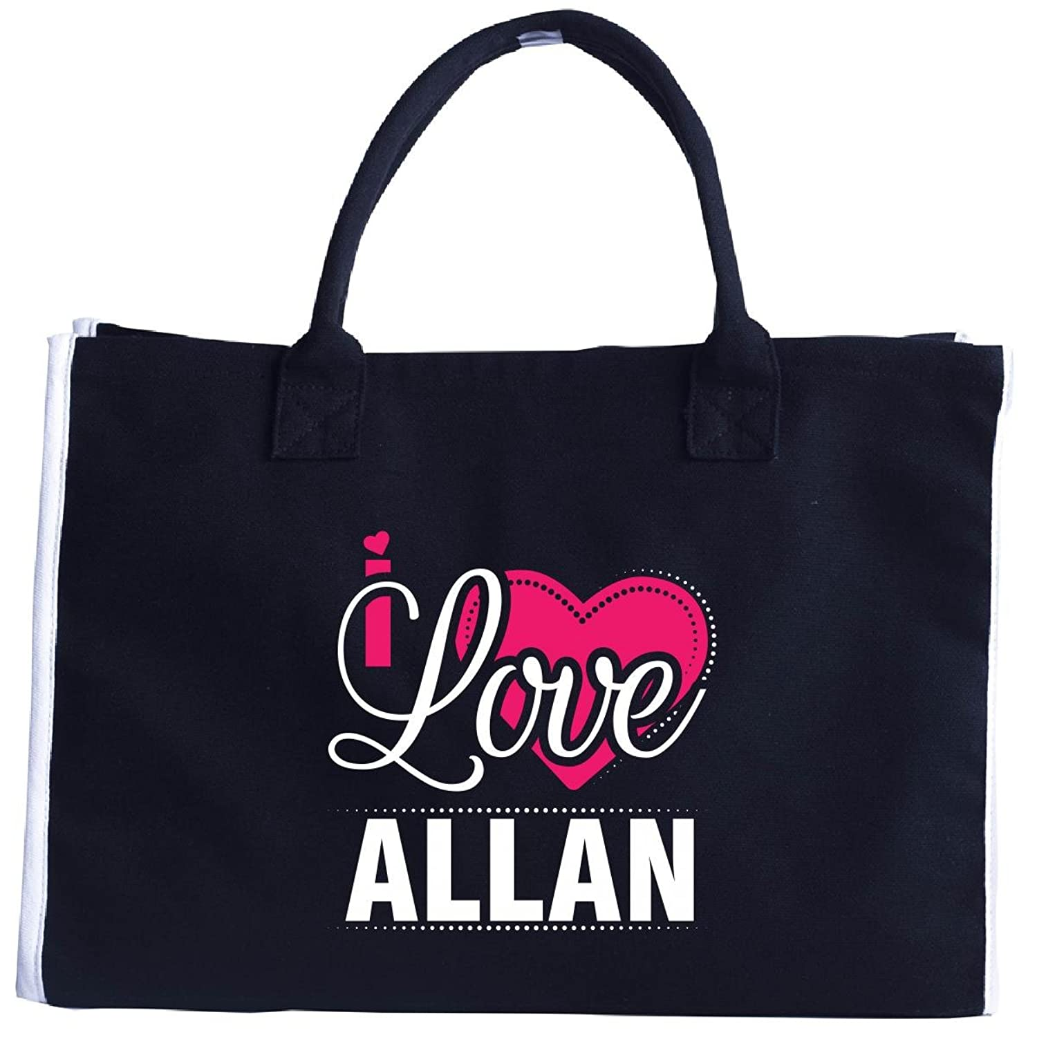 I Love Allan - Cool Gift For Allan From Girlfriend - Tote Bag