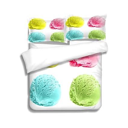 Amazon Com Mtsjtliangwan Family Bed Scoops Of Ice Cream