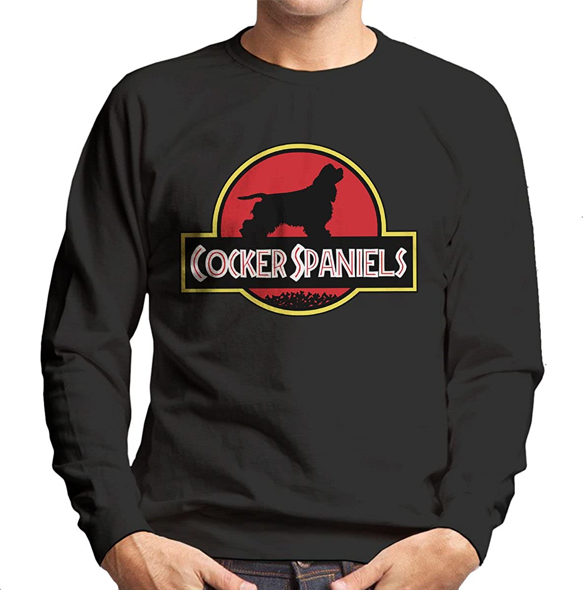 Jurassic Cocker Spaniels Kids Sweatshirt