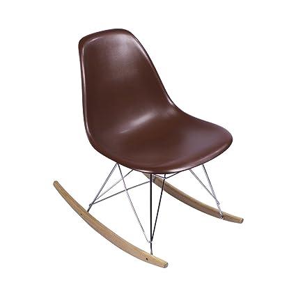 Stupendous Amazon Com Midmod Designs Mid Century Modern Rocking Chair Inzonedesignstudio Interior Chair Design Inzonedesignstudiocom