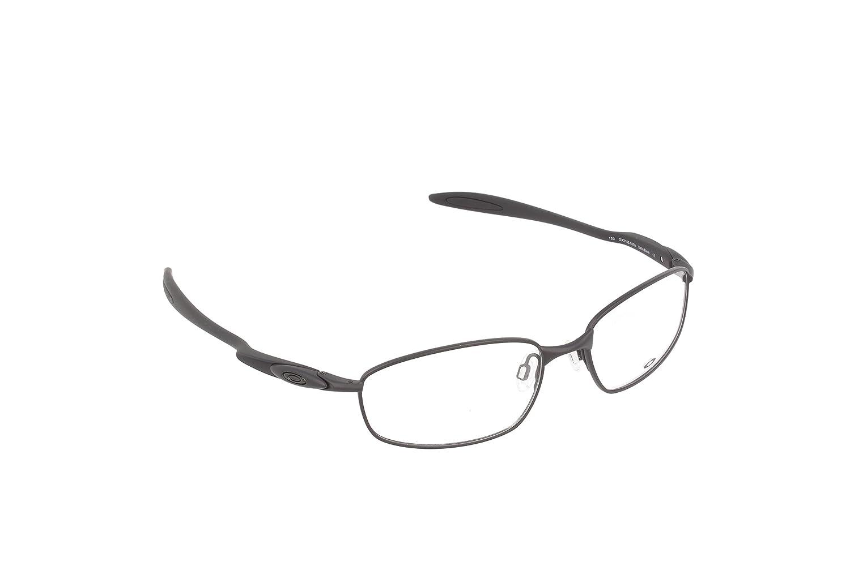 Oakley Blender 6B OX3162-0355 Eyeglasses Stain Black Clear Demo 17