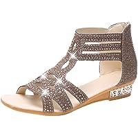 LANSKIRT_Zapatos Sandalias de Vestir Mujer, Mujer Verano Sandalias