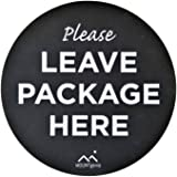 The Package Mat by Mount Genie: Stops Package Theft. The Simplest Way to Let Delivery People Know Where to Leave Your Packages