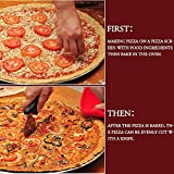 Seamless Aluminum Pizza Screen, Pizza Pan With