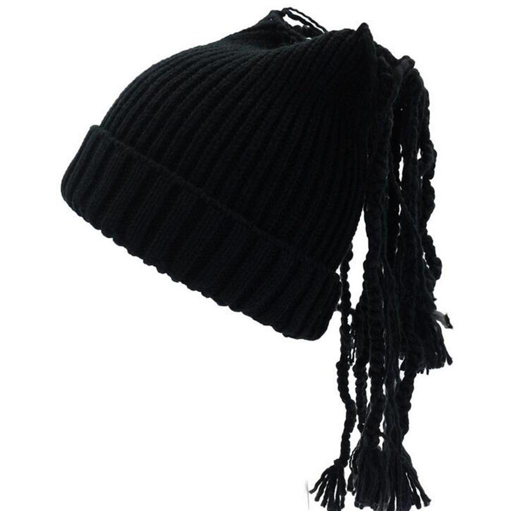 Modelos femeninos Sombrero tejido Moda Mantener caliente Frío Color sólido Otoño e invierno Sombrero...