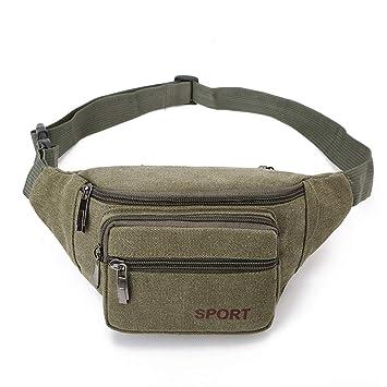 6fc3ded47b5e Amazon.com: Sentmoon Fashion Neutral Men and Women Small Bag Leisure ...