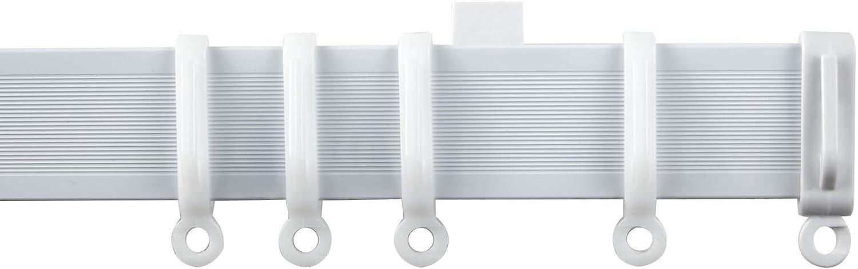 Speedy Streamline Curtain Track//Hooks//Rail Gliders for Medium to Heavy Curtains