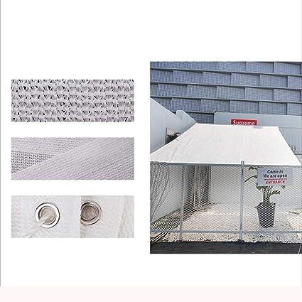 Plante terrasse Balcon Grange Toit Serre Voiture Fleur YINUO Camouflage Filet de masquage Blanc 6 Broches///écran Solaire//cryptage pour Jardin