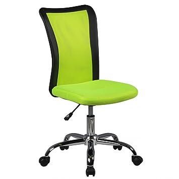 kadimadesign enfants bureau chaise verte lukas les enfants de 6 ans dossier roulettes de sol souples - Chaise Verte