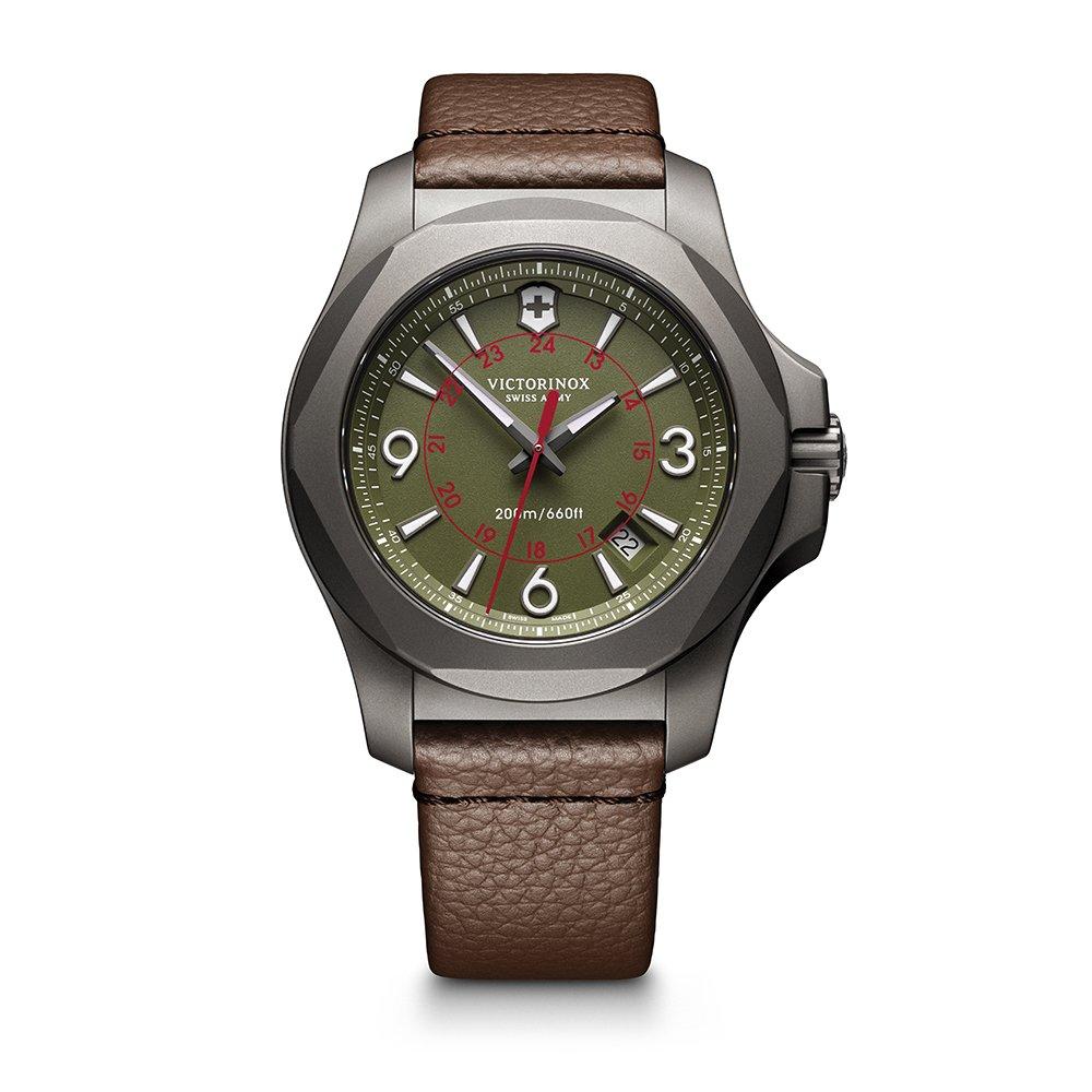 [ビクトリノックス スイスアーミー]VICTORINOX SWISS ARMY 腕時計 メンズ I.N.O.X. TITANIUM PILOT 241779 腕時計[正規輸入品] B01MRMA2NO Green Dial I.N.O.X. Titanium|メンズ I.N.O.X. (Men's I.N.O.X.) Green Dial I.N.O.X. Titanium