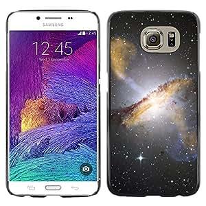 Shell-Star Arte & diseño plástico duro Fundas Cover Cubre Hard Case Cover para Samsung Galaxy S6 / SM-G920 / SM-G920A / SM-G920T / SM-G920F / SM-G920I ( Space Planet Galaxy Stars 1 )