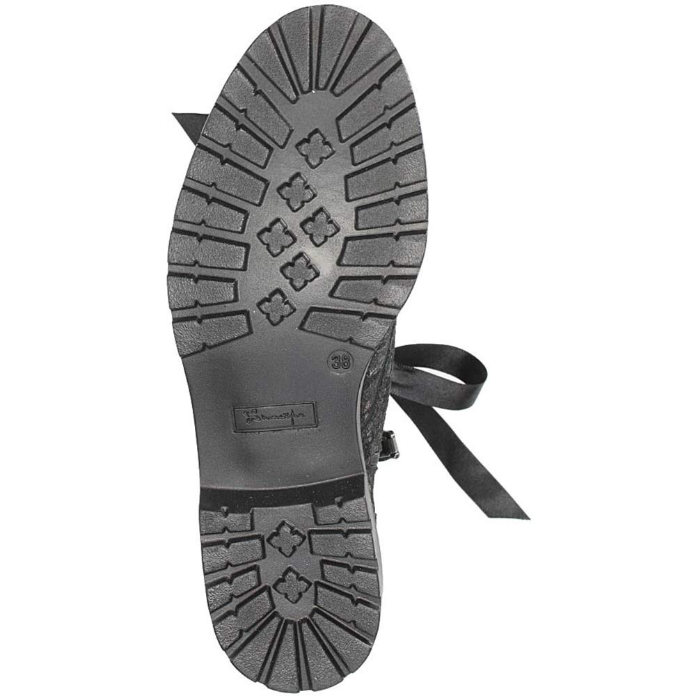 Maciejka Damen Stiefel Leder Mehrfarbig Stiefel mit Bogen 02761-31/00-3 Schwarz, Mehrfarbig Leder 424fb5