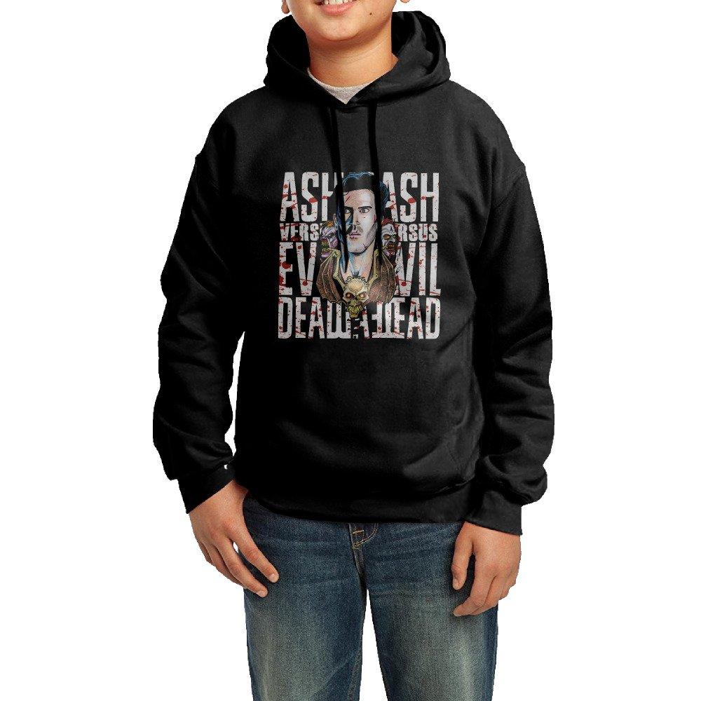 Funny Black Pullover Ash Vs Evil Dead Hooded For Adolescent's