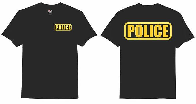 Amazon.com: Police T-Shirt (Duty Style): Clothing