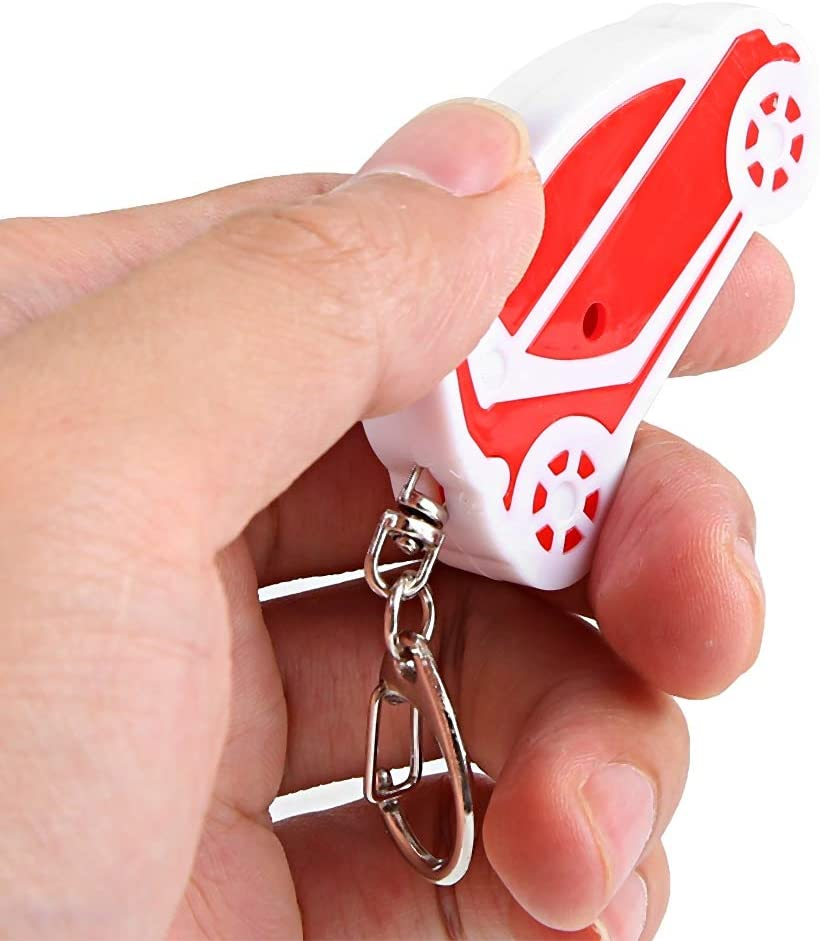 alarma por voz activada p/érdida de la llave Buscador de llaves silbato material ABS Red and black autom/óvil rastreador de mascotas ni/ños billetera
