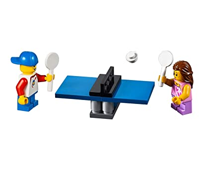 Magnificent Lego City Minifigure Combo Kids Playing Table Tennis Minibuild 31067 Home Interior And Landscaping Mentranervesignezvosmurscom