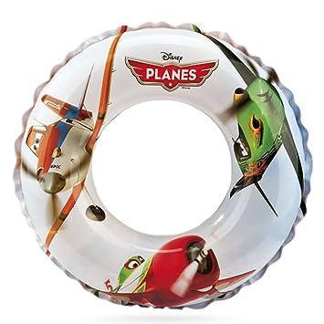 Intex - Rueda flotador hinchable, película planes, 61 cm (56208NP): Amazon.es: Juguetes y juegos